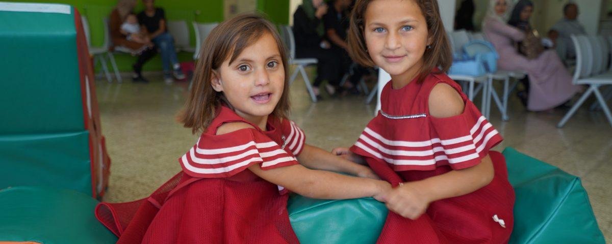 piccole pazienti betlemme ospedale palestina