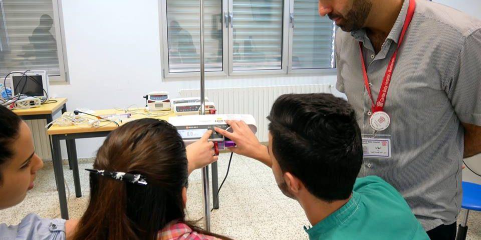 sessione di formazione, nuovi infermieri, Caritas Baby Hospital, infermieri palestina