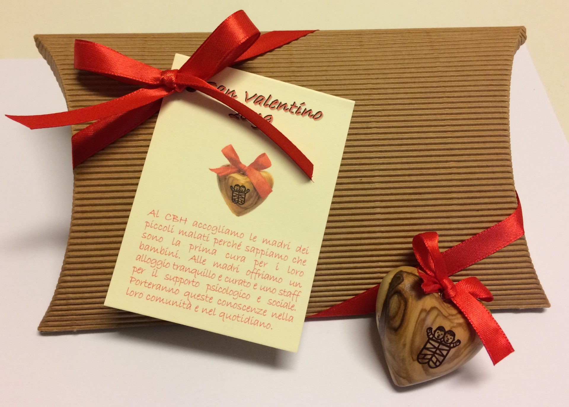 cuore san valentino aiuto bambino betlemme onlus