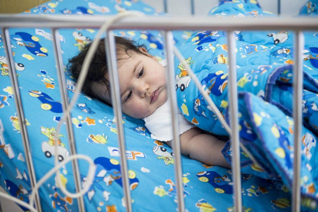 bambino ammalato caritas baby hospital