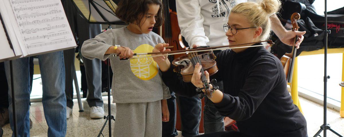 young european musican orchestra paolo olmi caritas baby hospital 2019