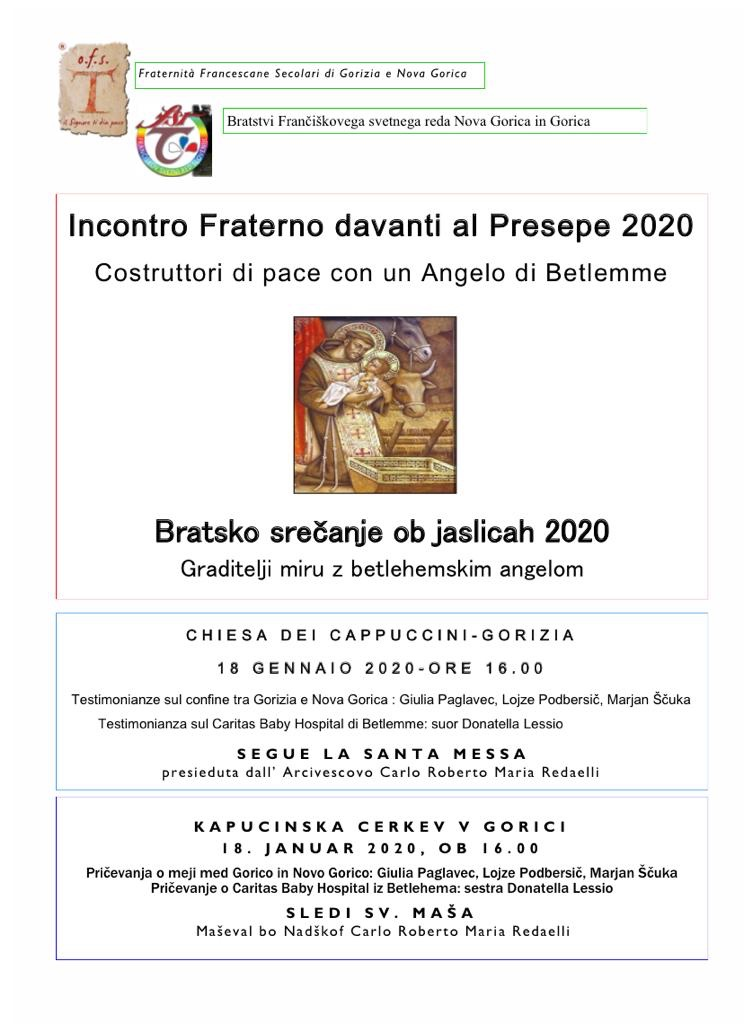 gorizia febbraio 2020 aiuto bambini betlemme