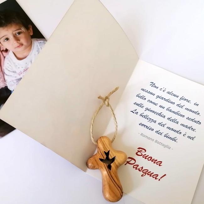 croce pasqua aiuto bambini betlemme