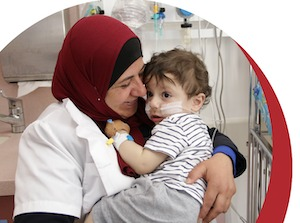 caritas baby hospital coronavirus piccolo malato cronico