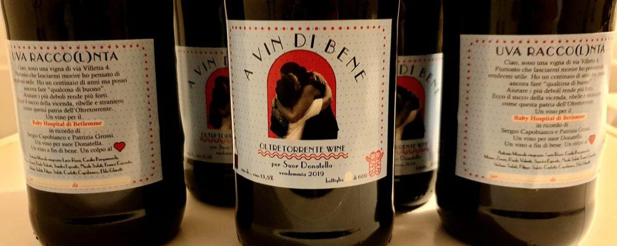 """Le bottiglie """"A vin di Bene"""" che aiutano i bambini del Caritas Baby Hospital"""