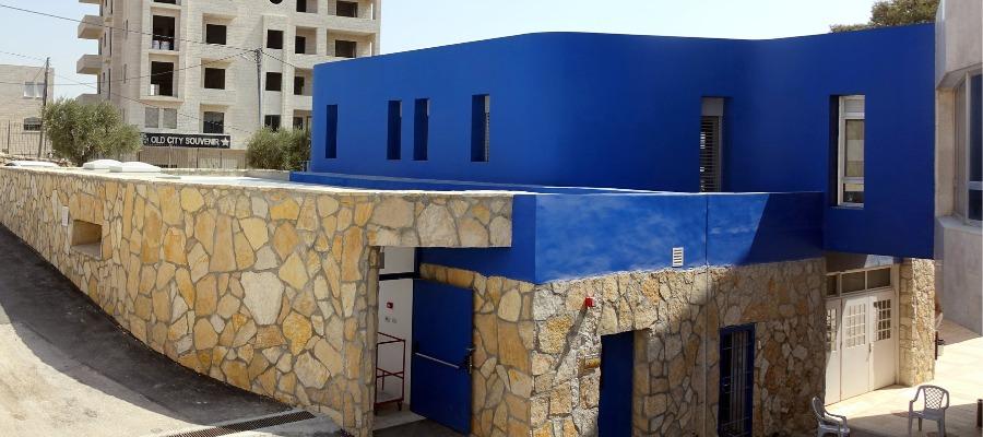 Il nuovo edificio per la gestione dei rifiuti sanitari