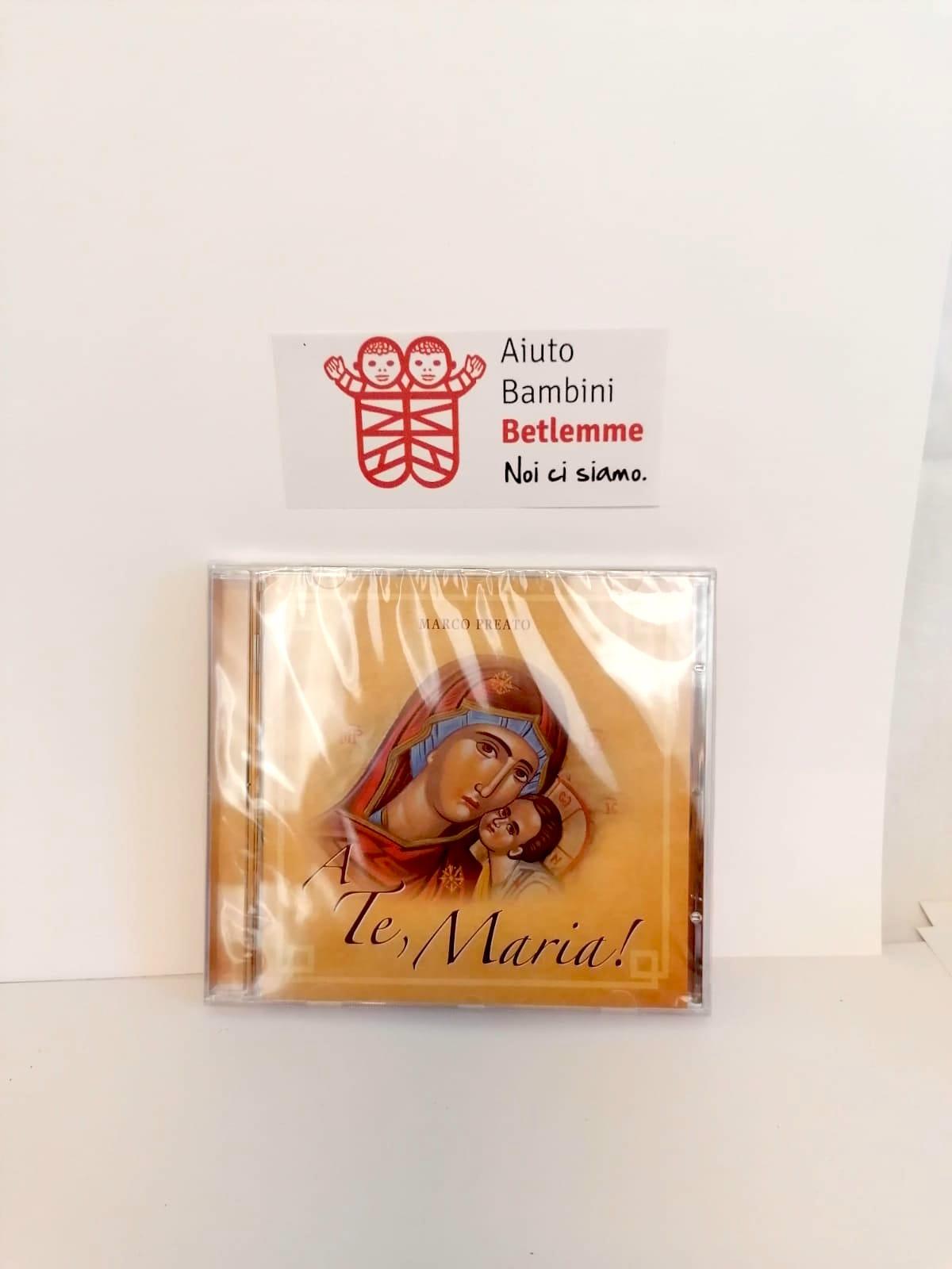 cd musica terra santa natale aiuto bambini betlemme