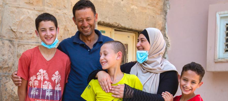 La famiglia Dar Mohammed