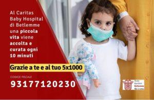 5x1000 aiuto bambini betlemme onlus caritas baby hospital betlemme