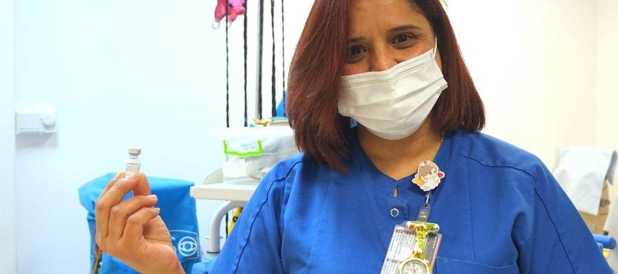 Caritas Baby Hospital - vaccinazione