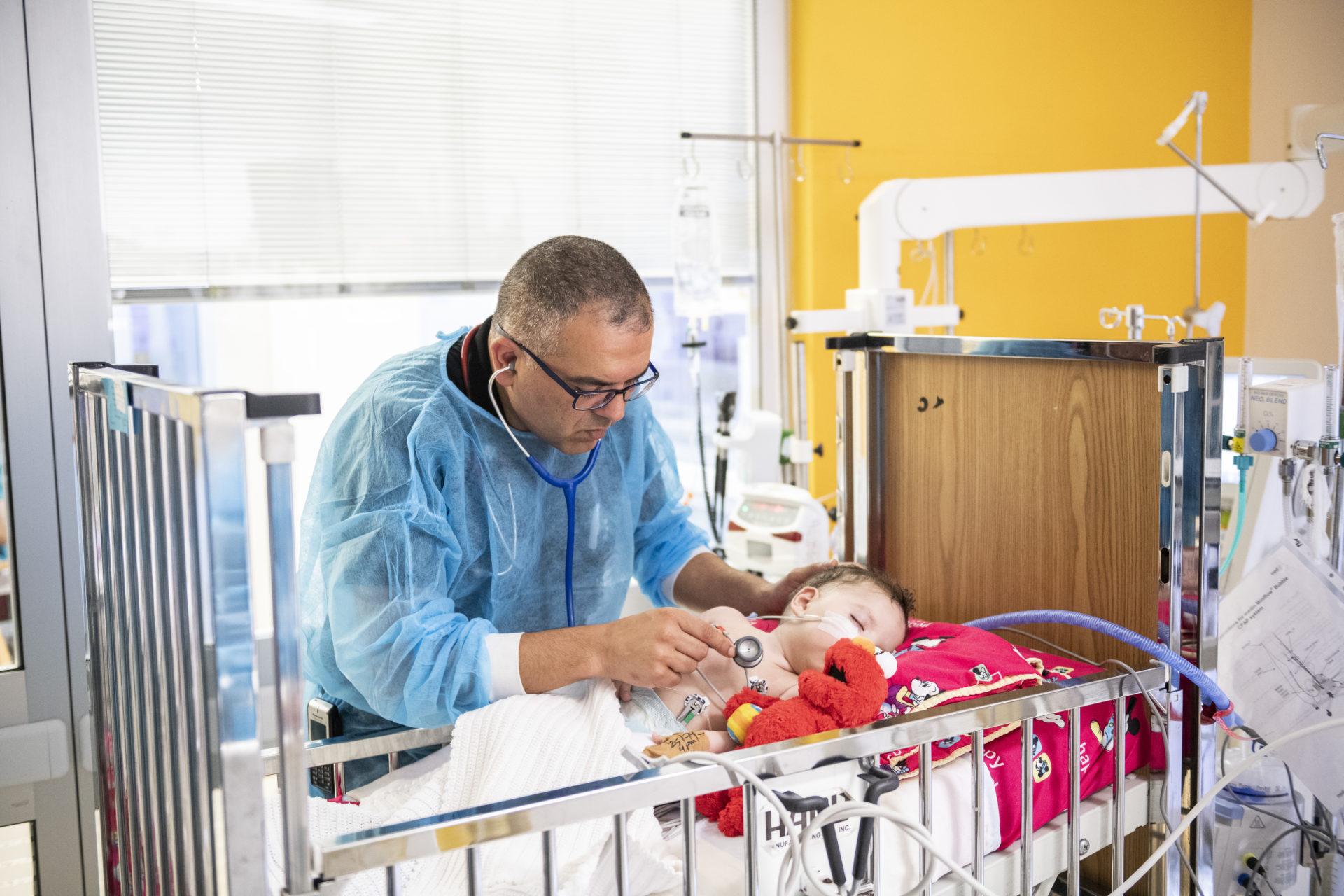 neonati campagna natale caritas baby hospital