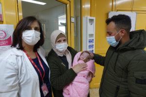 Zeina lascia il Caritas Baby Hospital