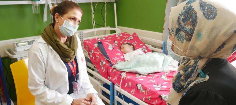 La direttrice dei Servizi Sociali del Caritas baby Hospital