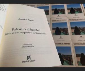 """""""Palestina al habiba! Storia di una cooperante in Terra Santa"""" (Masciulli Edizioni)."""