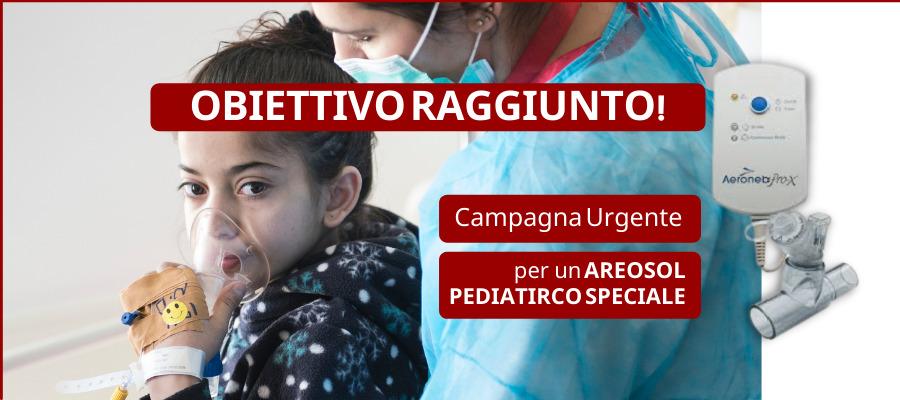 Aerosol pediatrico speciale