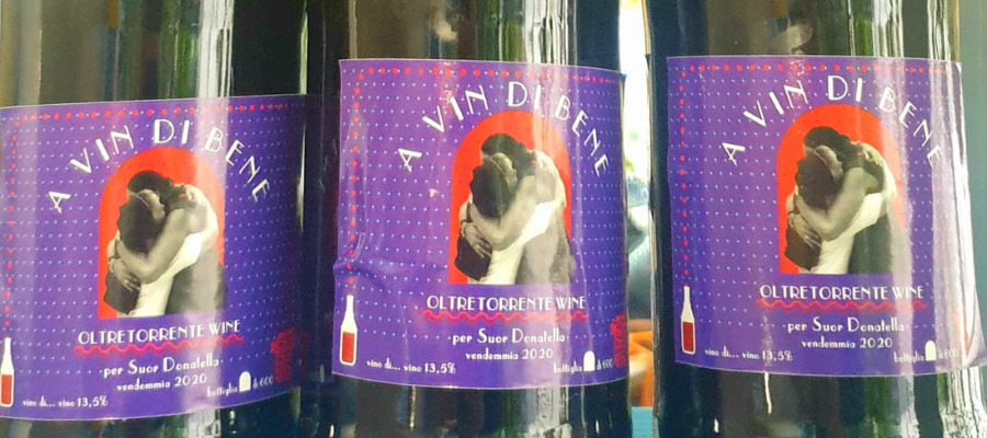 "Bottiglie ""A vin di Bene"", vendemmia 2020"