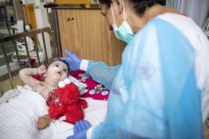 terapia intensiva caritas baby hospital betlemme